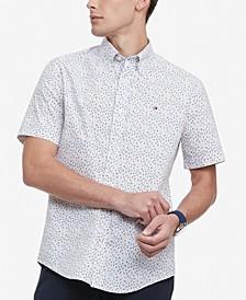 Men's Classic-Fit TH Flex Stretch Kove Poplin Floral Shirt