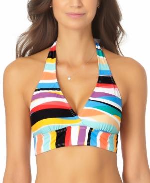 Banded Halter Bikini Top Women's Swimsuit