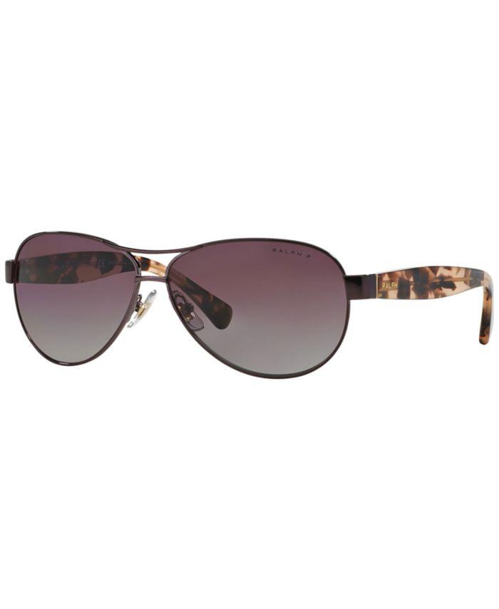 Ralph by Ralph Lauren Ralph Polarized Sunglasses , RA4096 & Reviews - Sunglasses by Sunglass Hut - Handbags & Accessories - Macy's