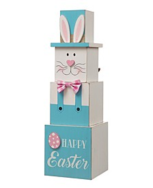"""24""""H Double Sided Wooden Porch Decor Easter and July Fourth"""