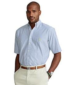 Men's Big & Tall Seersucker Shirt