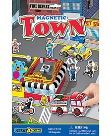Lauri Create-A-Scene Magnetic Playset - Town