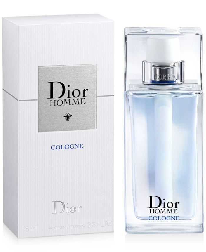 Dior Men's Homme Cologne Eau de Toilette Spray, 2.5 oz. & Reviews - Shop All Brands - Beauty - Macy's