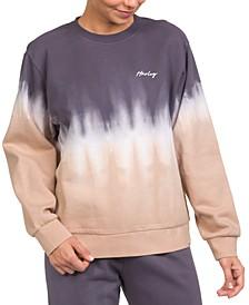 Dip-Dyed GF Crewneck Fleece Sweatshirt