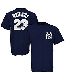 Majestic Men's New York Yankees Cooperstown Player Don Mattingly T-Shirt
