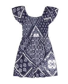 Big Girls Printed Dress