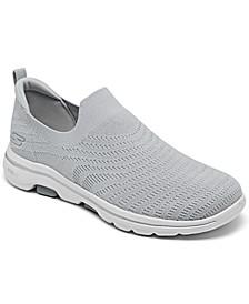 Women's GO walk 5 - Coastal View Slip-On Walking Sneakers from Finish Line