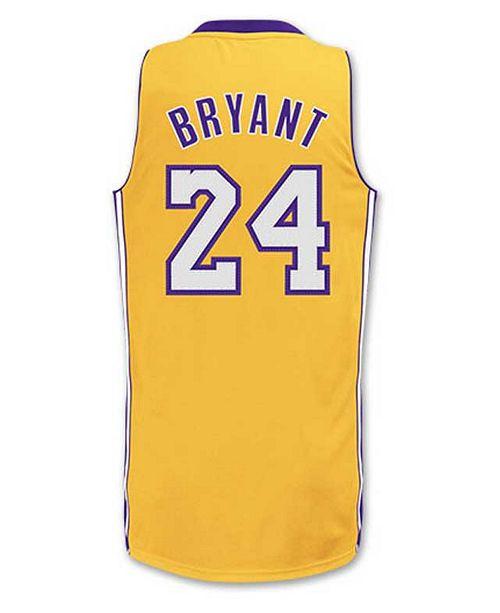 adidas Kids' Kobe Bryant Los Angeles Lakers Revolution 30 Jersey, Big Boys (8-20)