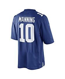 Men's Eli Manning New York Giants Limited Jersey