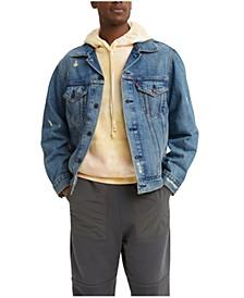 Men's Vintage-Like Fit Trucker Jacket
