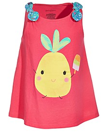Toddler Girls Pineapple Cotton Top, Created for Macy's