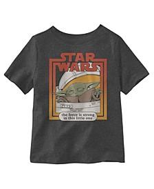Little One is Strong Short Sleeve Little Boys T-shirt