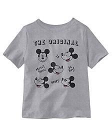 Mickey Mouse the Original Short Sleeve Little Boys T-shirt