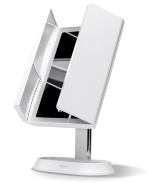 Zora Rechargeable Led Trifold Makeup Mirror