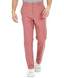 Men's Classic-Fit Cotton Stretch Performance Dress Pants