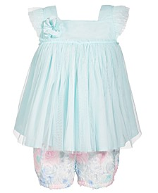 Toddler Girls Rosette Dress Set, Created for Macy's