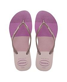 Women's Slim Palette Glow Flip Flop Sandals