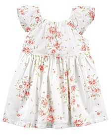 Baby Girls Floral Flutter Dress