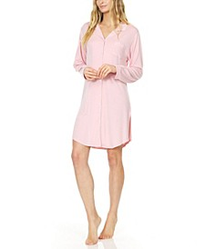 Women's Annie Button Down Sleepshirt