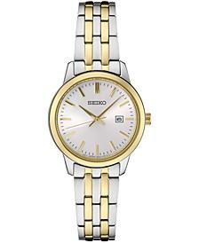 Women's Essential Two-Tone Stainless Steel Bracelet Watch 30mm