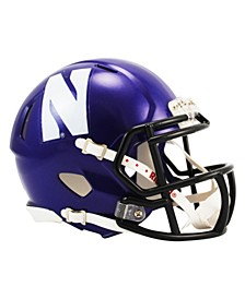 Northwestern Wildcats Speed Mini Helmet