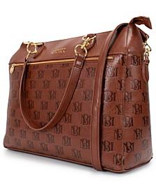 Madalyn Vegan Leather Travel Tote Weekender Bag