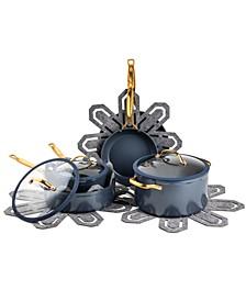 Jupiter 12-Pc. Aluminum Nonstick Cookware Set