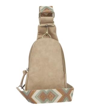 Urban Originals Women's Liberty Sling Bag In Taupe
