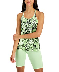 Women's Sandra Snake Strappy Tank Top, Created for Macy's