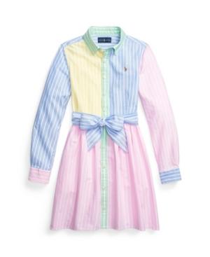Polo Ralph Lauren Dresses TODDLER GIRLS OXFORD FUN SHIRTDRESS