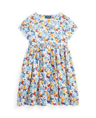폴로 랄프로렌 Polo Ralph Lauren Little Girls Floral Empire-Waist Dress