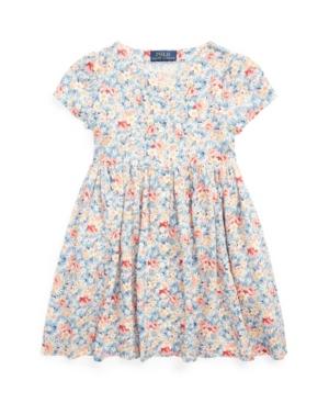 Polo Ralph Lauren Dresses TODDLER GIRLS FLORAL EMPIRE-WAIST DRESS