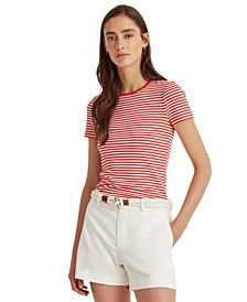 Petite Stretch-Infused Top