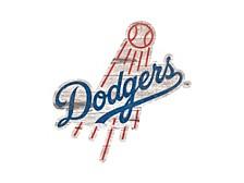 Fan Creations Los Angeles Dodgers 24in Logo Cutout Wall Art