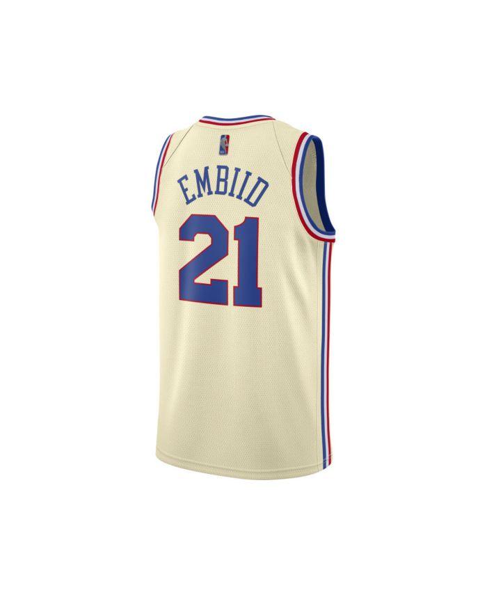 Nike Philadelphia 76ers Men's Earned Swingman Jersey - Joel Embiid & Reviews - NBA - Sports Fan Shop - Macy's
