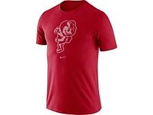 Men's Ohio State Buckeyes Retro Logo Tri-Blend T-Shirt