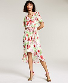 Ruffled High-Low Dress, Created for Macy's