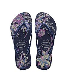Women's Slim Organic Flip Flop Sandals