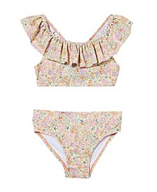 Toddler Girls Frankie Frill Bikini, Set of 2