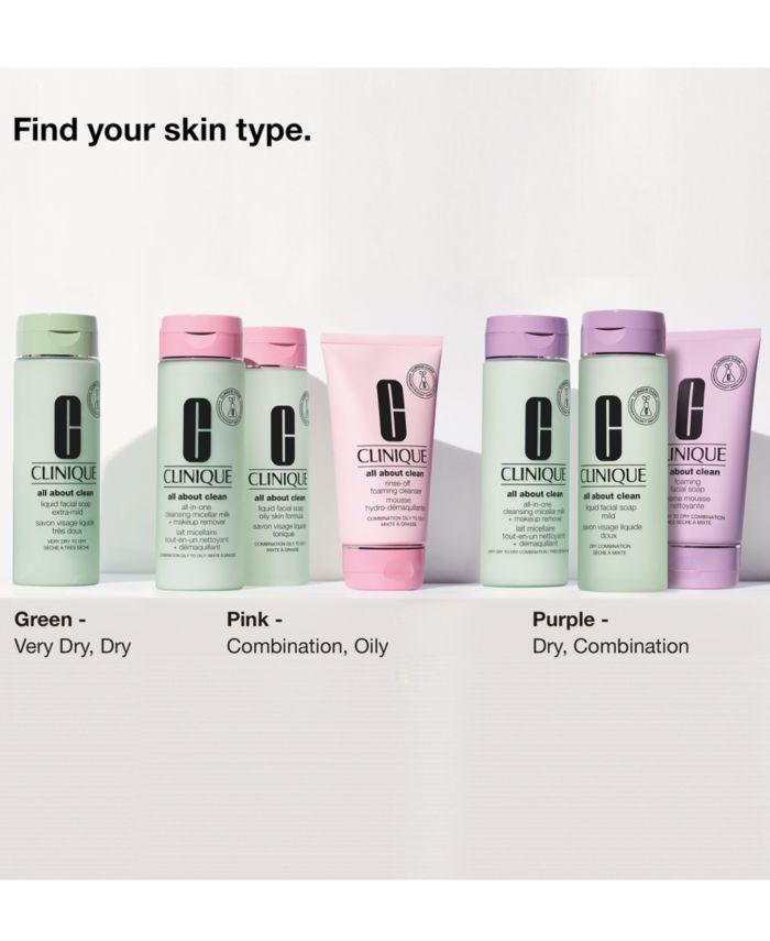 Clinique Foaming Sonic Facial Soap, 1 oz & Reviews - Skin Care - Beauty - Macy's