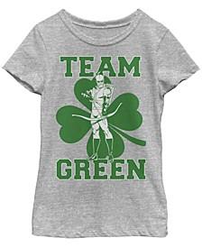 Big Girls Justice League Arrow Team Short Sleeve T-shirt