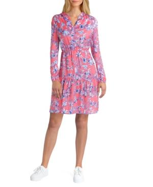 Women's Long Sleeve Tiered Dress