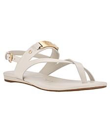 Women's Sadra Ankle Strap Flat Sandals
