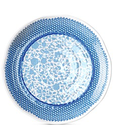 Heritage Melamine Set of 4 Dinner Plates