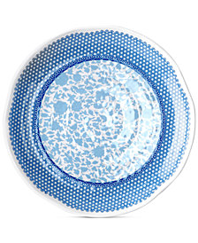 Q Squared Heritage Melamine Set of 4 Dinner Plates