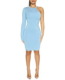 The NW One-Sleeve Bodycon Dress