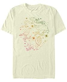 Men's House Constellations Short Sleeve Crew T-shirt