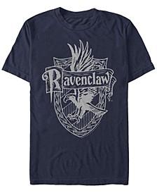 Men's Ravenclaw Crest Short Sleeve Crew T-shirt