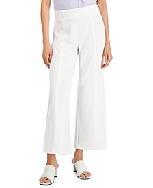 Solid Pull-On Center-Seam Pants, Created for Macy's