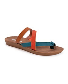 Women's About Town Slip-On Flat Sandals